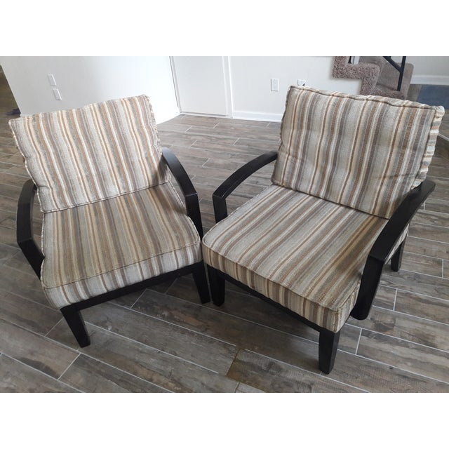 Mid Century Playboy Style Chairs - Pair - Image 2 of 6