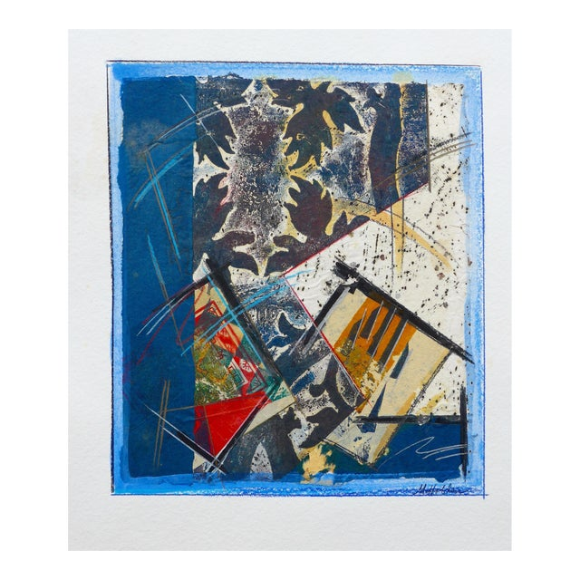 Abstract Drawing, Light in the Leaves For Sale
