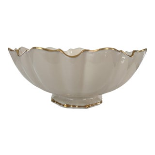 Lenox Scalloped White China Bowl For Sale