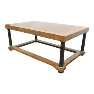 Baker French Empire Coffee Table For Sale