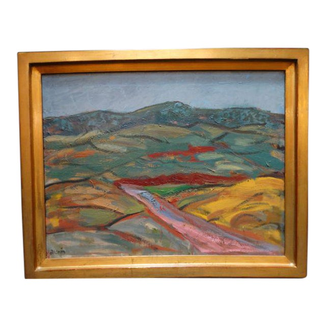 Anders Aldrin: Salinas Valley, Oil on Board - Image 1 of 7