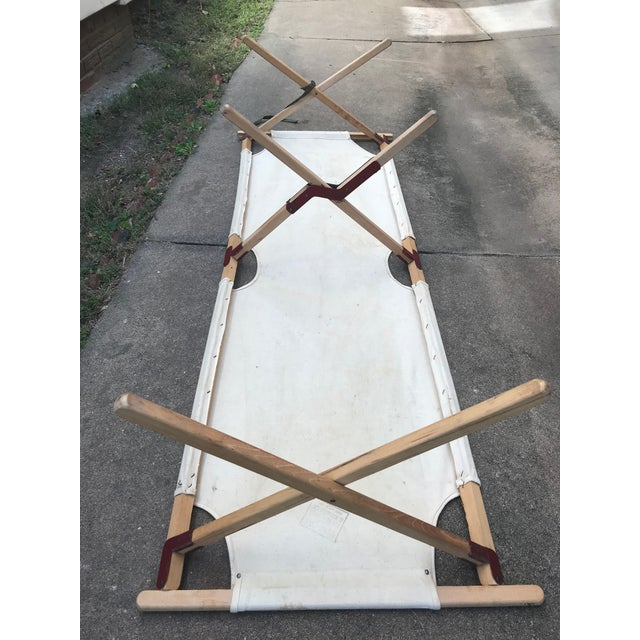Vintage Collapsible Camping Cot For Sale - Image 10 of 11