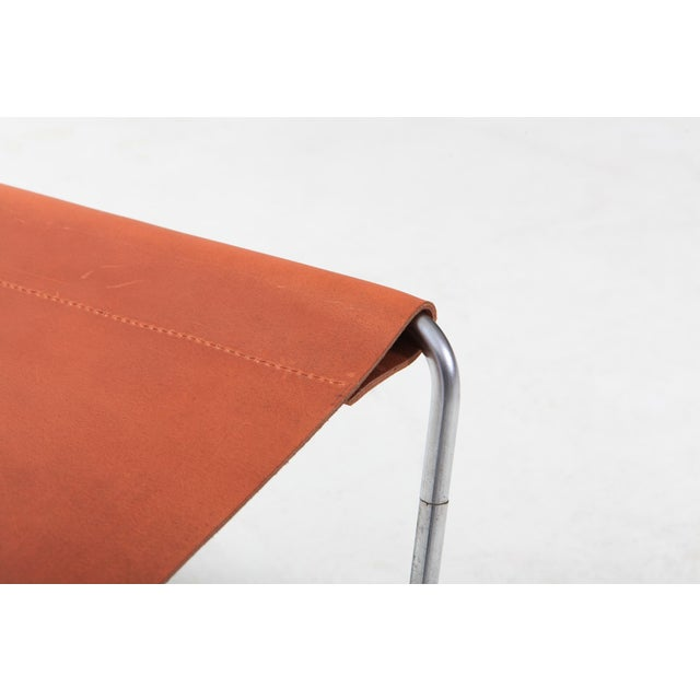 Animal Skin Verner Panton Bachelor Lounge Chair for Fritz Hansen For Sale - Image 7 of 10