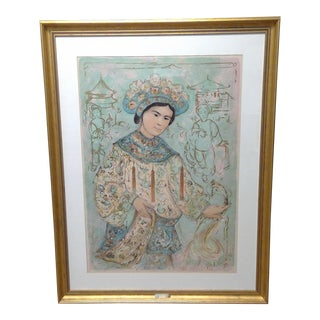 "Edna Hibel ""Princess of the Imperial Summer Palace"" Print For Sale"