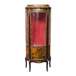 20th Century French Curio Cabinet For Sale