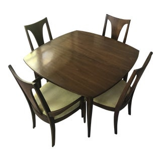 1960s Mid-Century Modern Broyhill Dining Set - 5 Pieces For Sale