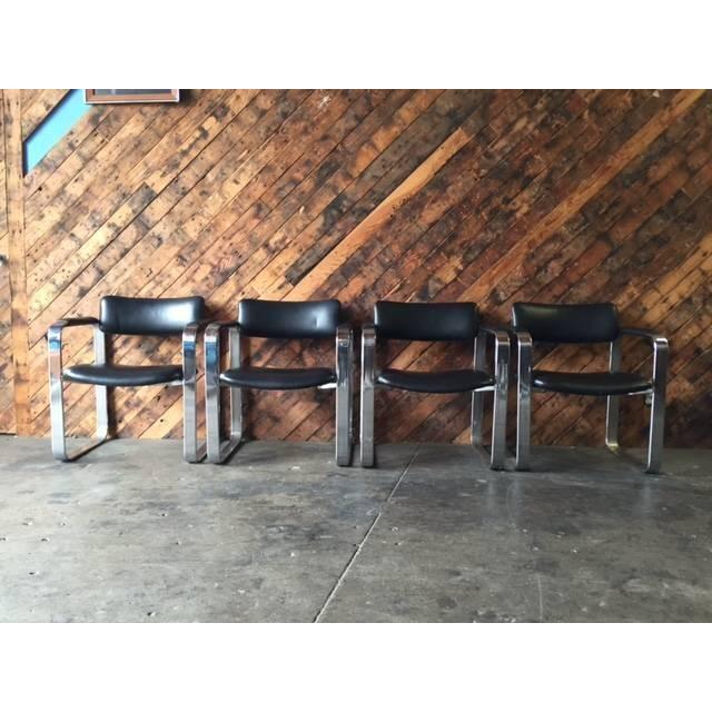 Mid-Century Eero Aarnio Chairs - Set of 4 - Image 2 of 8