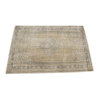 "Oversize Oushak Beige Rug - 7'1"" x 10'7"" For Sale"