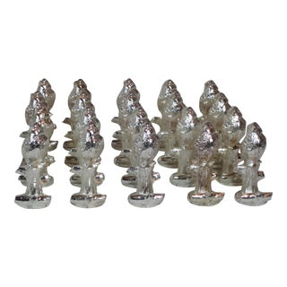Silverplated Place Card Holders, 20 Pc