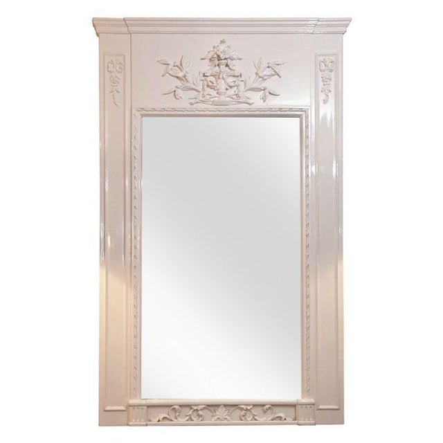 French Trumeau Mirror - Image 1 of 6