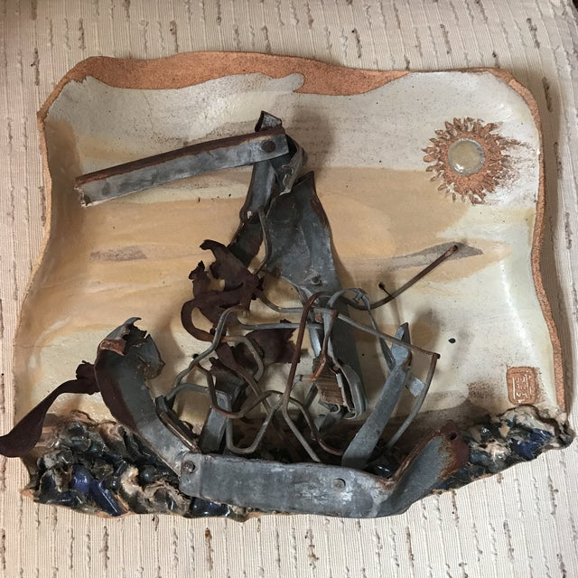 Mid-Century Mixed Media Abstract Sailing Sculpture - Image 3 of 9