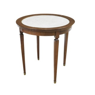 1920s l'Hoste Ameublements French Louis XVI Style Gueridon Cocktail Table For Sale