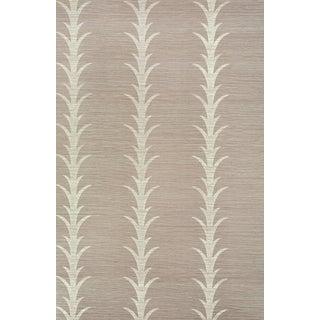 Sample - Schumacher X Celerie Kemble Acanthus Stripe Wallpaper in Haze Preview