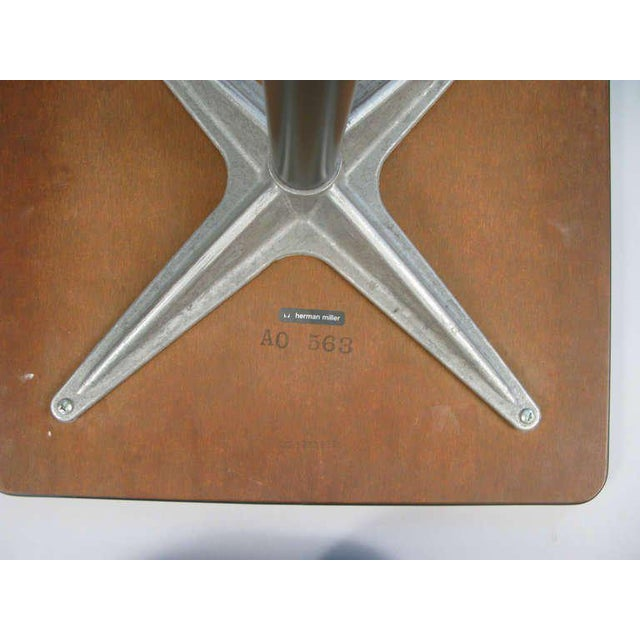Aluminum Eames for Herman Miller Aluminum Group Tables - a Pair For Sale - Image 7 of 8