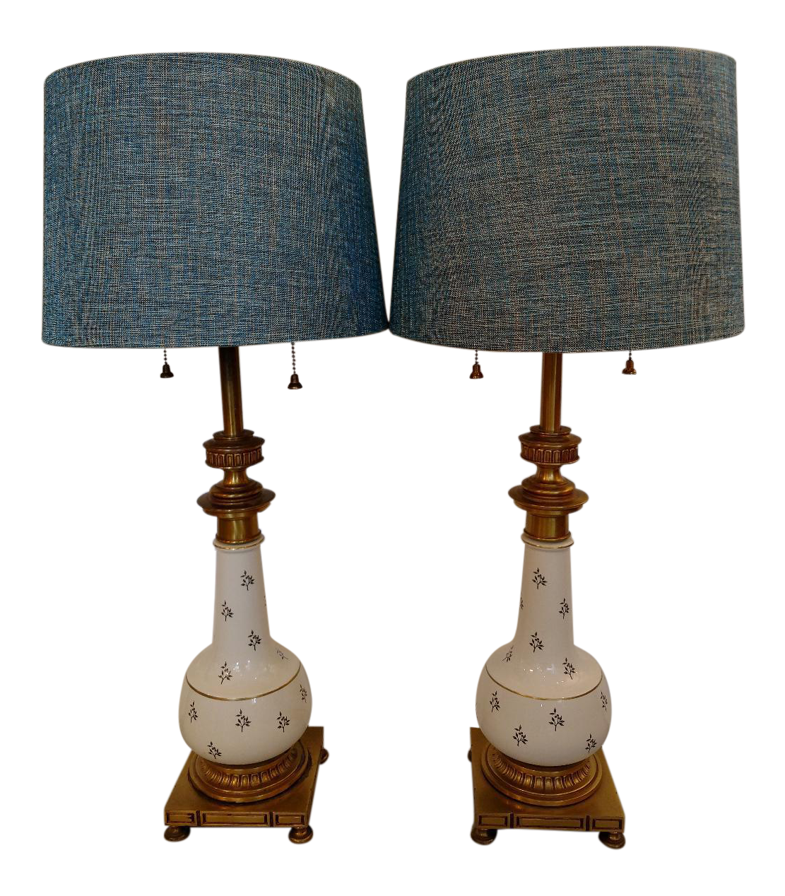 Vintage Stiffel Table Lamps A Pair Chairish