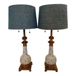 Vintage Stiffel Table Lamps - a Pair