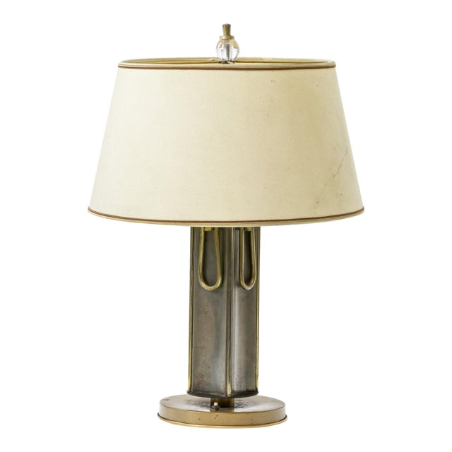 Marcel Asselbur 1950s 4 Rings Table Lamp For Sale