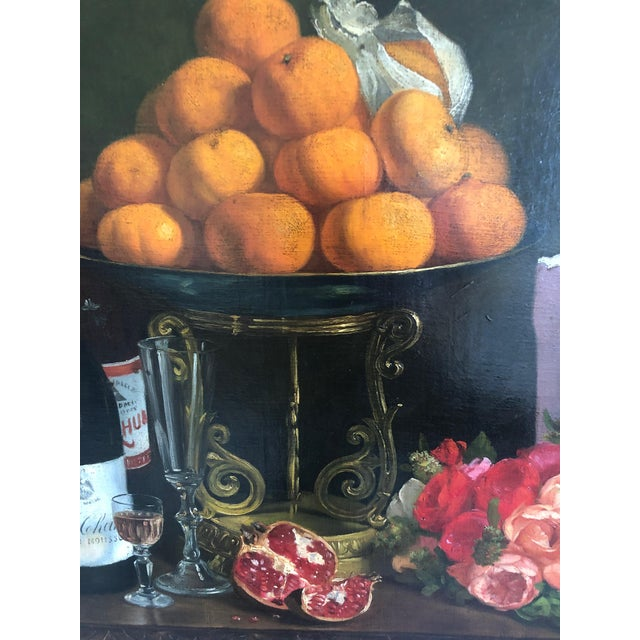 Mid 19th Century Realist Still Life by Francois Abel For Sale - Image 5 of 13
