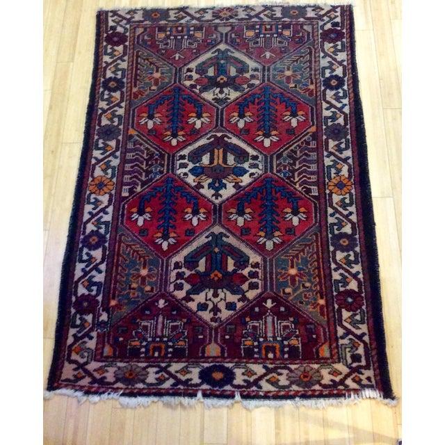 Afghanistan Handmade Oriental Rug - 5′ × 7′ - Image 2 of 6