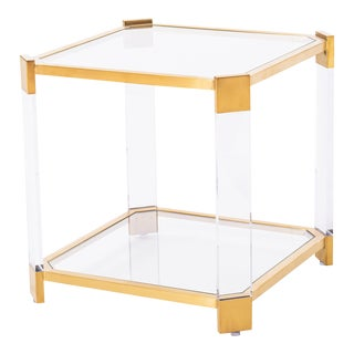 Blink Home Gold End Table For Sale