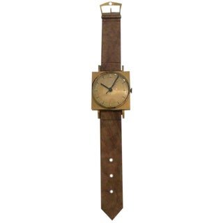 Giant Size Advertising Sign Wrist Watch For Sale