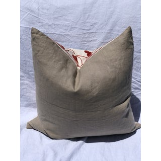 Suzani Pomegranate Flower Textile Cushion Preview