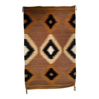 Vintage Navajo Rug- 3′3″ × 5′1″ For Sale