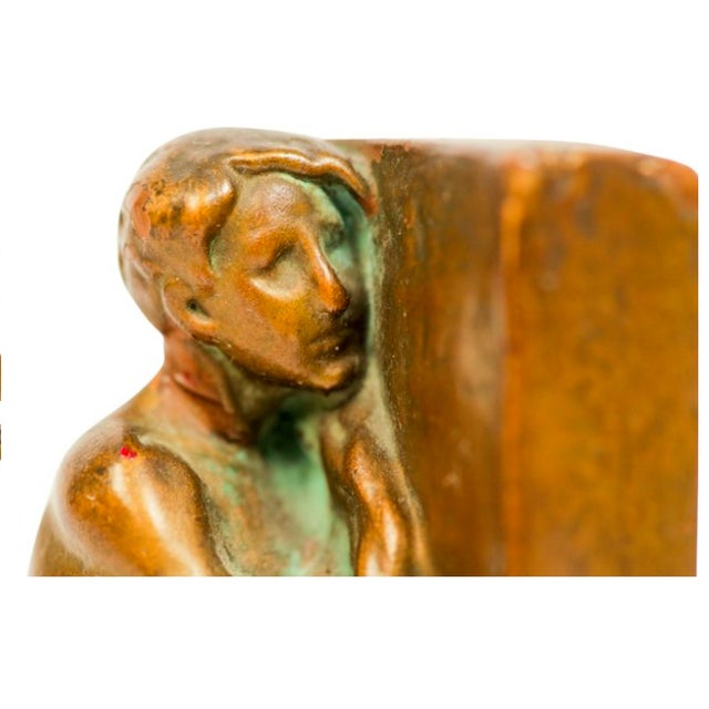 The Builder Bronze Bookends - Pair - Image 3 of 5
