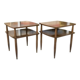 Pair Mid-Century Modern Side Tables For Sale