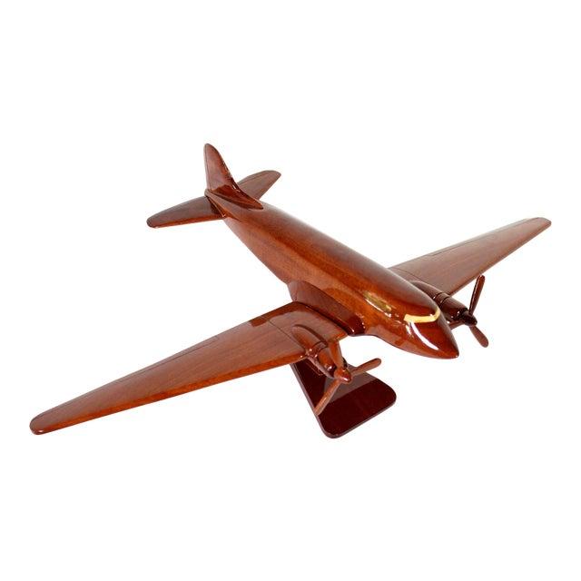 "Mid-Century Solid Wood DC-3 ""Dakota"" Model For Sale"