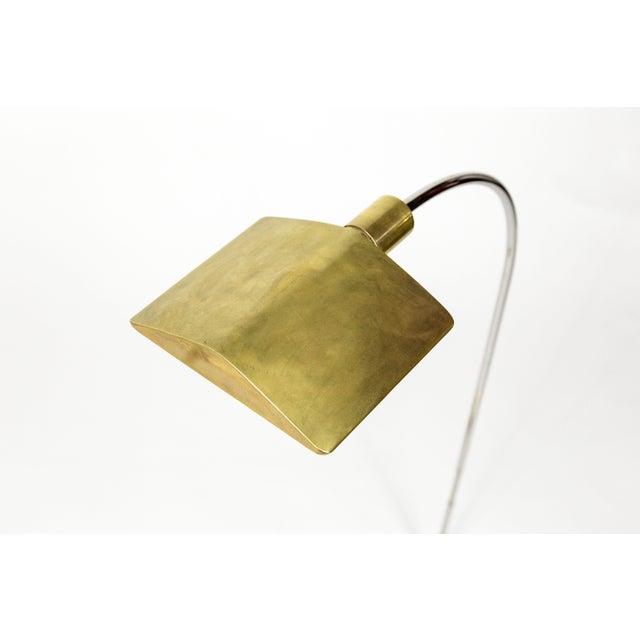 1970s 1970s Cedric Hartman Brass Floor Lamp For Sale - Image 5 of 13