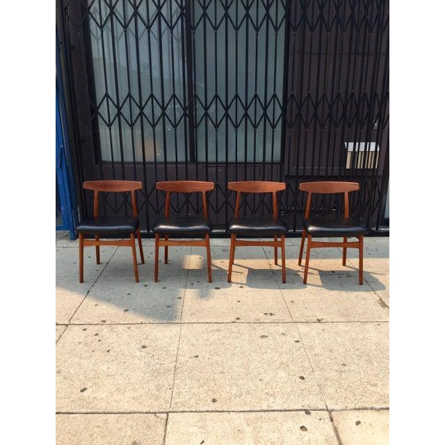 Bruno Hansen Danish Modern Chairs - Set of 4 - Image 2 of 9