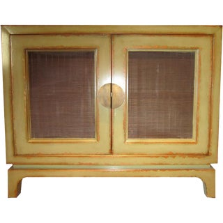 Asian Mesh Cabinet For Sale