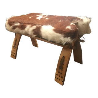Spotted Pony Covered Stool