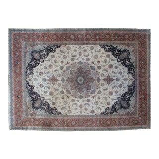 Leon Banilivi Antique Persian Isphahan Carpet - 10' X 14' For Sale