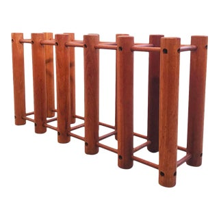 Teak Wine Rack For Sale