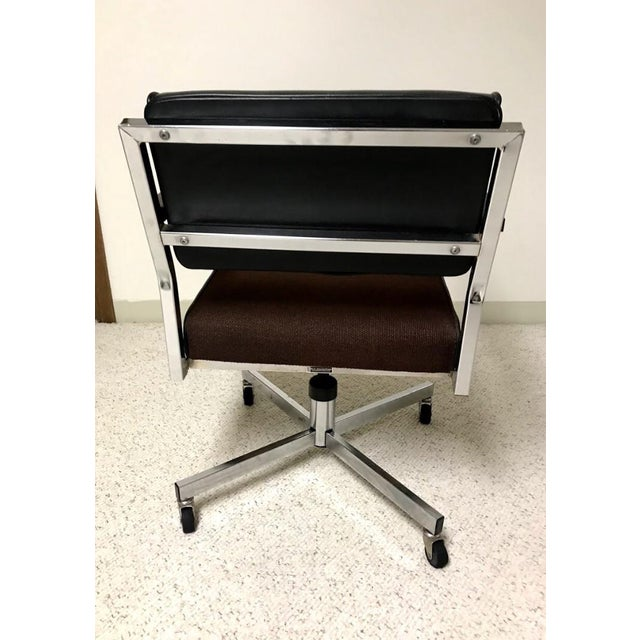 This EckAdams Corp 1970's Office Chair is in amazing condition and super clean. Acquired from a school office years ago...