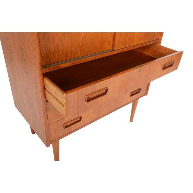 Tibergaard Danish Modern Teak Bureau Dresser For Sale In San Francisco - Image 6 of 10