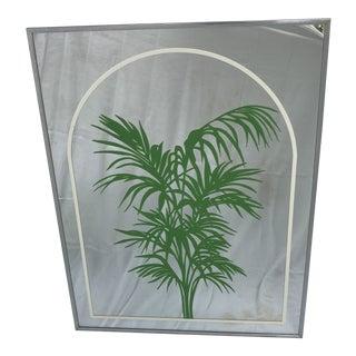Hollywood Regency Palm Mirror
