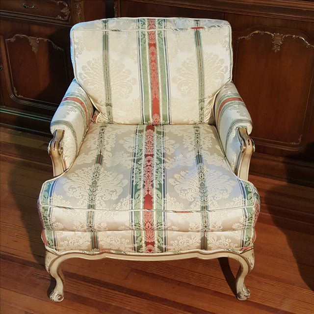 19th Century French Prov. Club Chairs - a Pair - Image 3 of 11