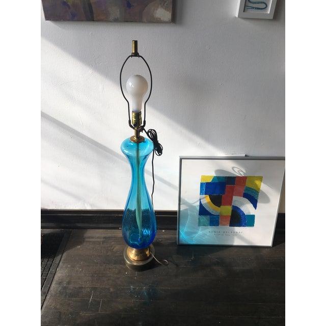 Italian Murano Glass Table Lamp - Image 3 of 5