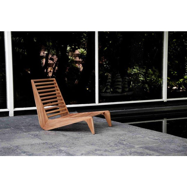 A beautiful and stylish outdoor piece inspired by 1950s Mexican furniture and constructed using traditional joinery...