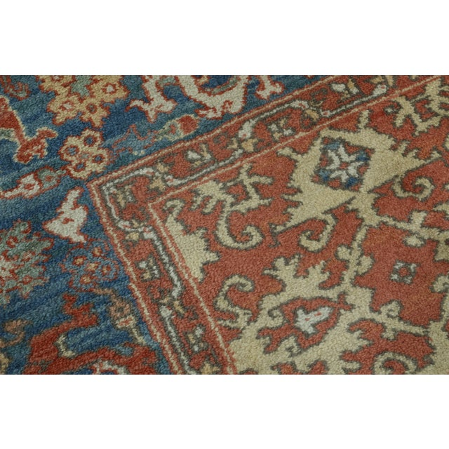 1970s Karastan Approx 8 X 12 Ushak Colonial Williamsburg Rug For Sale - Image 5 of 13