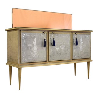 Italian Mid Century Modern Umberto Mascagni Sideboard