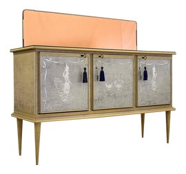 Image of Hollywood Regency Filing Cabinets