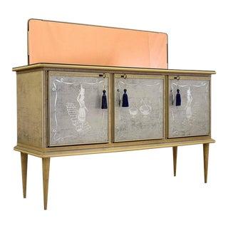Umberto Mascagni 1950s Bar Cabinet For Sale