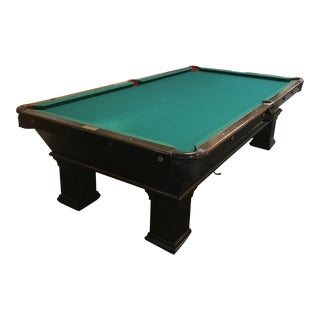 20th Century Traditional Brunswick Balke Collender Co. Monarch Cushion Pool Table For Sale