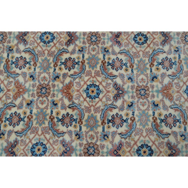 "Red Karastan #789 Herati 8'8"" x 12' Room Size Rug For Sale - Image 8 of 13"