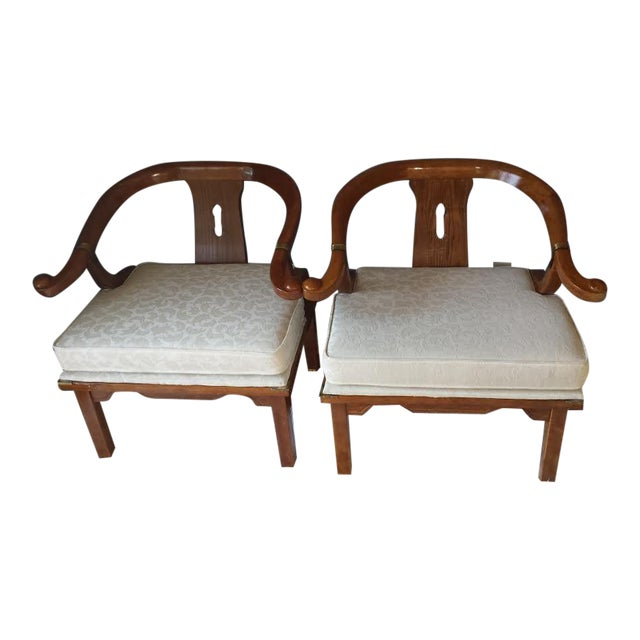 James Mont Style Chairs - A Pair - Image 1 of 8