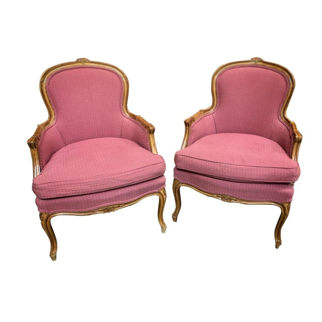 1990s Vintage Century Chair Company Asian Arm Chairs - a Pair For Sale
